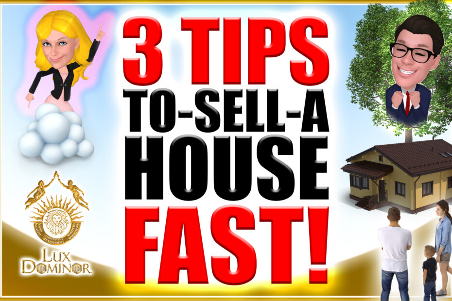 3 Tips To Sell A House Fast - Morgan And Alex Buy Houses In Houston Texas