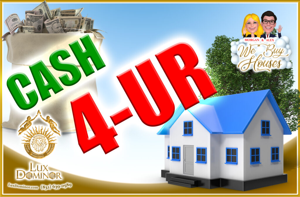 4 Scenarios To Lump Sum Cash For Your House 2 - Morgan And Alex Buy Houses In Houston Texas