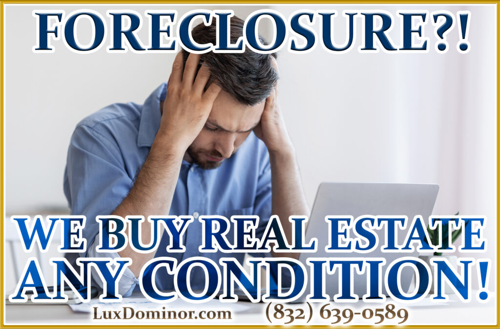 We Buy Real Estate And We Buy Houses In Any Condition-Foreclosure