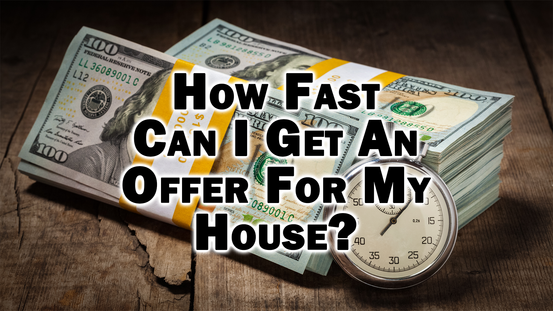 How Fast Can I Get An Offer For My House 2